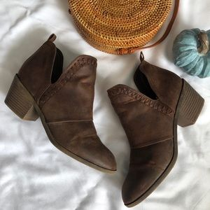 ROCK & CANDY, Brown Lipton Bootie, Size 8.5